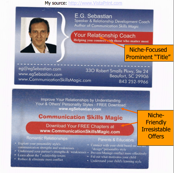 10 Tips to Creating a Business Card that Attracts Prospects and Clients